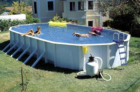 овальный сборный бассейн atlantic pools