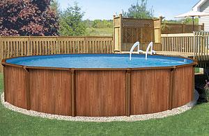 сборный бассейн Esprit Wood